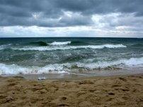 На море в холодное время года?