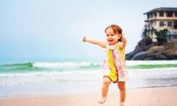 Отдых на море с детьми: ребенок первый раз едет на море