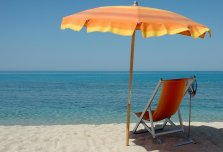"""Немного про зонтики и """"грибки"""" на пляже!"""